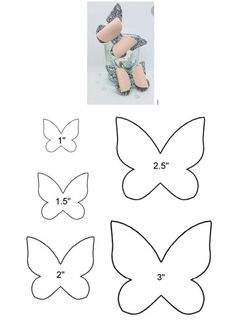 Bows For Babies Baby Bows Diy Butterfly Butterfly Template Felt Bows Ribbon Bows Diy Hair Bows Diy Bow Diy Headband Handmade Hair Bows, Diy Hair Bows, Diy Bow, Ribbon Hair, Felt Flowers, Fabric Flowers, Paper Flowers, Bow Template, Butterfly Template