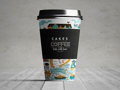 Станчик кофе PSD Мокап | Design Hero