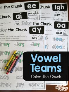 Long Vowel Team Phon