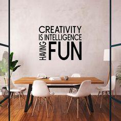 Office Wall Decals, Office Walls, Office Decor, Office Ideas, Fun Office Design, Creative Office Space, Office Fun, Office Suite, Office Inspo