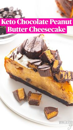 Low Carb Sweets, Low Carb Desserts, Low Carb Recipes, Jello Desserts, Dessert Recipes, Healthier Desserts, Dessert Food, Low Carb Keto, Low Carb Cheesecake