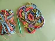 scrumbling freeform crochet tutorial - Cerca con Google