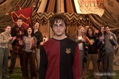 Harry Potter and the Goblet of Fire - Publicity still of Daniel Radcliffe