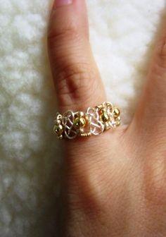 Pretzel Knot Ring