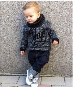 Toddler boy fashion @KortenStEiN                                                                                                                                                     More #KidsFashion