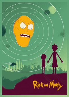 Rick And Morty by shrimpy99 (Rick Tindall)