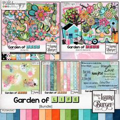 Garden of Life Bundle By Designs by Laura Burger