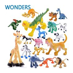 $7.23 (Buy here: https://alitems.com/g/1e8d114494ebda23ff8b16525dc3e8/?i=5&ulp=https%3A%2F%2Fwww.aliexpress.com%2Fitem%2F6pcs-lot-Cute-Cartoon-Jungle-Forest-Animal-Kingdom-Elephant-Dinosaur-Farm-Poultry-Lion-and-Tiger-Model%2F32688471463.html ) 6pcs/lot Cute Cartoon Jungle Forest Animal Kingdom Elephant Dinosaur Farm Poultry Lion and Tiger Model Classic Action Figure Toy for just $7.23