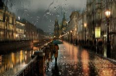 St Petersburg Cityscape by Eduard Gordeev