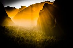 Bridal Veil Falls Sunrise