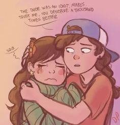Mabel and fem!dipper - Doublepines Tumblr