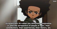 Huey Freeman Only Speaks The Truth / The Boondocks