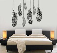 Bedroom Murals, Bedroom Decor, Bedroom Ideas, Bedroom Wall Stickers, Shabby Bedroom, Bedroom Rustic, Shabby Cottage, Design Bedroom, Trendy Bedroom