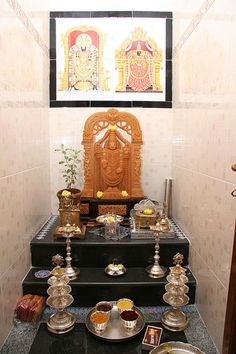 OMG: Pooja Room Designs and Set Up for Indian Homes                                                                                                                                                     More