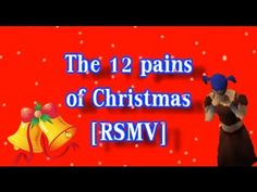 """The hilarious parody of the christmas carol """"The 12 days of christmas"""" by Bob Rivers made in the game Runescape.    This video was made using the MMORPG Runescape together with some cheap editing tricks.   http://www.runescape.com"""