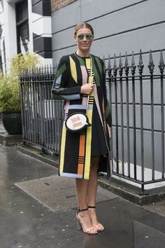 Pin for Later: Updated! All the Best London Fashion Week Street Style Day 4 Sarah Somberg.