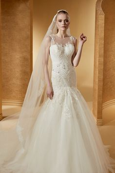 Wedding Dress Romance  ROAB17860 2017