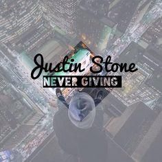 Justin Stone- Never Giving #music #hiphop #indie #cincinnatti #ohio #justin #stone #blog #blogger