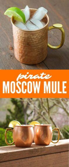 Rum based Moscow Mule