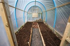 Recycled polytunnel