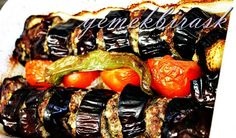 Köfteli Patlıcan Kebabı Tarifi