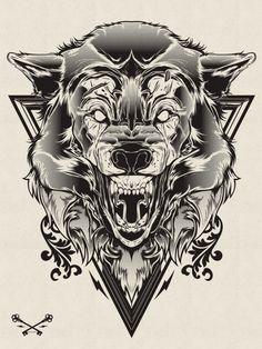 Halftone Print Series by Joshua M. Smith
