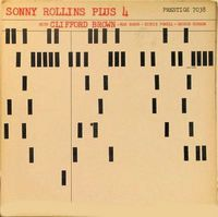 Sonny Rollins Plus Four Prestige 7038 - cover by Reid Miles. There's more than one cover to this album Lp Cover, Vinyl Cover, Cover Art, Album Design, Music Covers, Album Covers, Conception Album, Blue Note Jazz, Francis Wolff