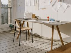 CPH Table and Soft Edge chair.
