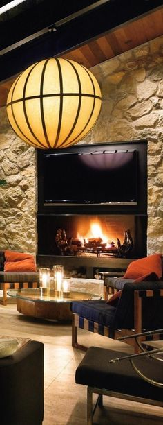 Outdoor Areas - Fireplace