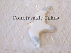 Seagull bird Decorated Sugar Cookies  1 dozen by CountrysideCakes, $24.00