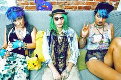 sea punk kids   aquatic grunge