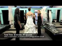 Surprisingly helpful information! @Kelly Nuñez, @Jen Palubin, @Elyse Marhefka, @Rowe Copeland Video- How to properly get into a wedding dress