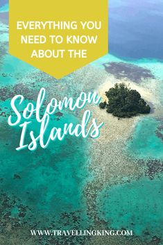 Everything you need to know about the Solomon Islands | Solomon Islands travel tips |  Solomon Islands travel | Solomon Islands Guide | Solomon Islands Bucket List | Solomon Islands | Solomon Islands Things to Do in | Tourist Attractions Solomon Islands | Solomon Islands Attractions #Solomon Islands #SolomonIslandstravel #SolomonIslandstravelguide #SolomonIslandsthingstodo #exploreSolomonIslands #visitSolomonIslands