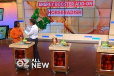 Energy Boosters Hot List: Dr. Oz is solving your energy crisis once and for all as he reveals his custom designed energy-boosting hot list.
