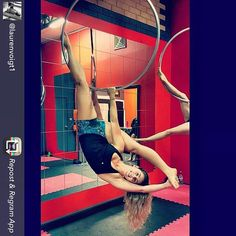 Repost from @laurenvoigt1 - #playtime @waaerialfitness