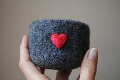 needle felted bowl - Google Search