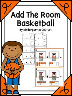 This Basketball Theme add the room has a number on each basketball hoop with a basketball ten frame below to help students to add sums up to 10. There are 10 half page posters to copy and laminate and hang around the room. Students will take a recording sheet and clipboard and walk around the room writing the addition problem and answer on the recording sheet.Valentine Add The Room -PenguinsAdd The Room Easter Egg -Dice