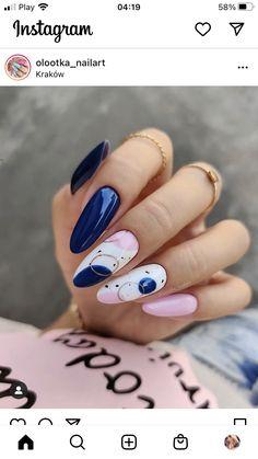Nail Manicure, Gel Nails, Nails Inspiration, Beauty Nails, Nail Designs, Gemstone Rings, Nail Art, Gemstones, Floral
