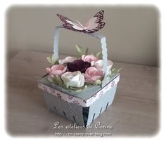panier de fruits rouges - berry basket by Corine Collet