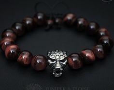 Black Panther Bracelet Mens Bracelet , 925 Silver Panther Charm Bracelet, Jewelry For Men, Women, Unisex Bracelet, Valentines Day Gift