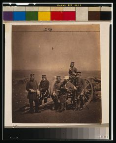 British officers in the Crimean war