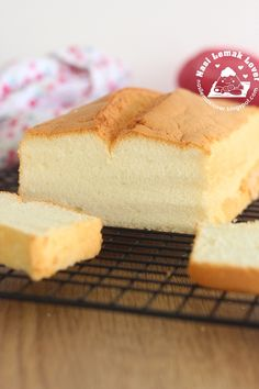 Nasi Lemak Lover: Chiffon Loaf Cake 长条戚风蛋糕