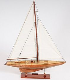 Columbia Sailboat Model for sale on www.shipmodelsuperstore.com