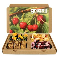 Graze boxes @ Graze.com are amazing! Check them out. So cheap, and full of healthy snacks delivered to your door. Just 5$ per box. Use code JMX99CWQU and receive the first and the 5th boxes FOR FREE.