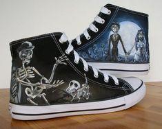 Tim Burton's Corpse Bride | Community Post: 15 Unique Customized Converse Sneaker Designs