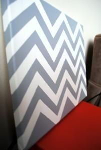 DIY Chevron      : DIY dove gray chevron : DIY home decor