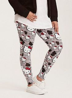 Hello Kitty Print Full Length Leggings, MULTI