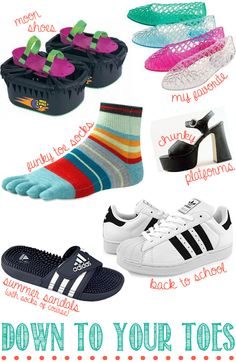 Hahahaha all our favorite 90's shoes
