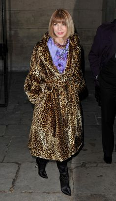 Anna Wintour at London Fashion Week