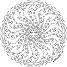 Print and color this mandala in jpg or png format. Click through for the best version.